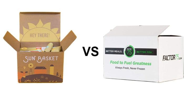 Sun Basket vs. Factor75: A Meal Box Service Showdown!