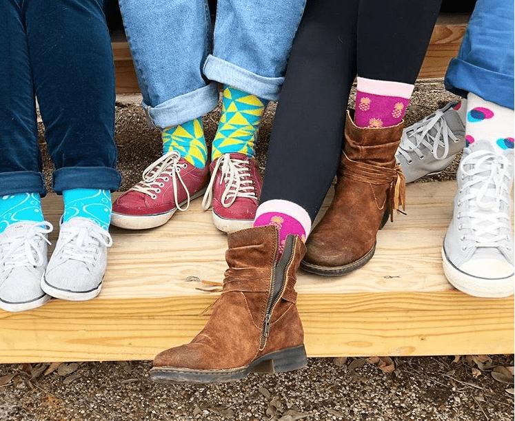 foot cardigan vs sock fancy