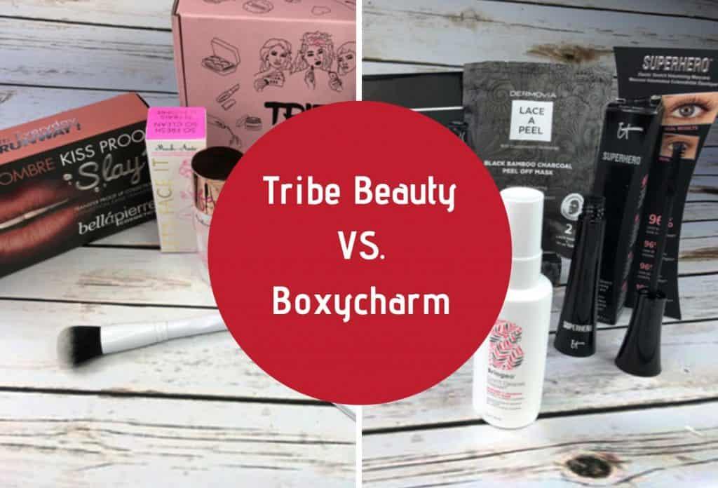 tribe beauty vs boxycharm