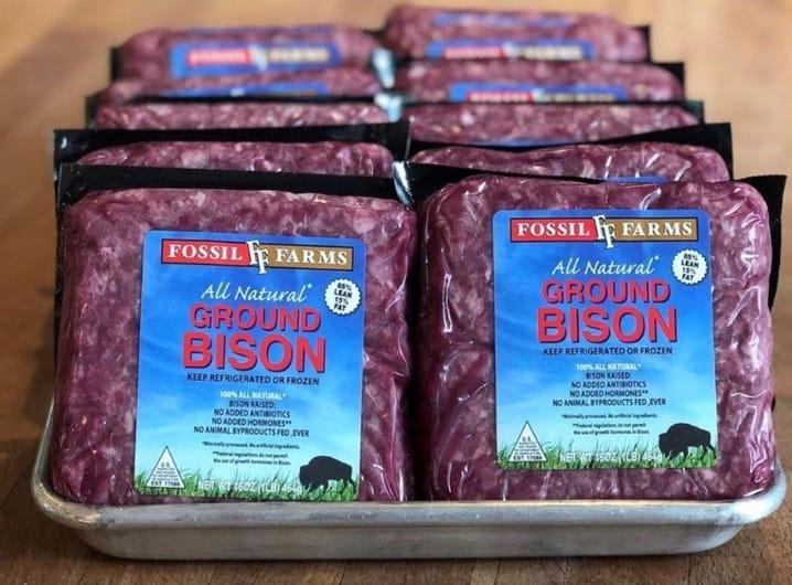 fossil farm ground bison